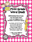 First Grade Word Study For the Whole Year