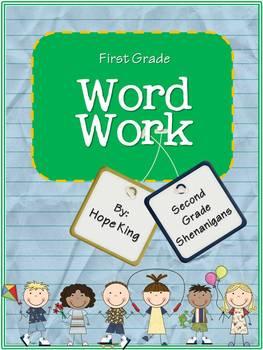 First Grade Word Study