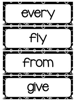 First Grade Word Wall