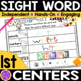 Sight Word Practice   High Frequency Words Practice   Word Wall Words