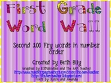 First Grade Word Wall-Fry