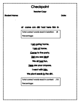 First Grade Word Wall Practice Quarter One