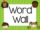 First Grade Word Wall Words Polka Dot