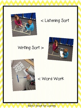First Grade Word Work