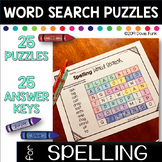 Word Searches for First Grade Spelling - Great for Beginners!