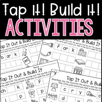 Word Work Activities and Centers for the Year