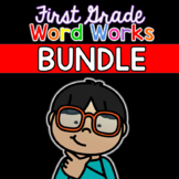 First Grade Word Works: Growing EVERYTHING Bundle