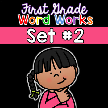 First Grade Word Works Daily: Set #2 (Printable & Interactive PDF)