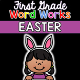 First Grade Easter Digital Learning Activity: Easter Word