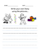 First Grade Write Your Own Story Using Pictures Templates