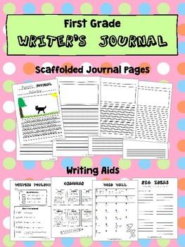 First Grade Writer's Journal