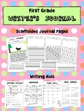 First Grade Writer's Journal