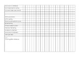 First Grade Writer's Workshop Unit Checklists