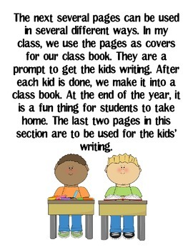 First Grade Writer's Workshop Unit (Common Core)