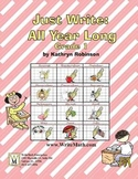 First Grade Writing - Daily Lessons, Spelling, Grammar (Full Year)