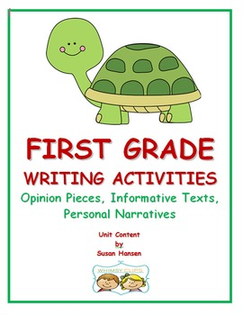First Grade Writing: Standards Based