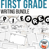 First Grade Writing Bundle! Back to School Writing Activit