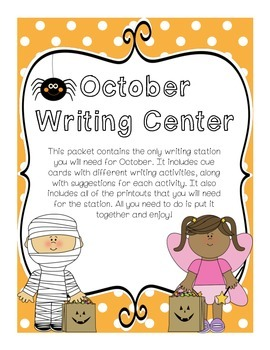 Writing Center (October)