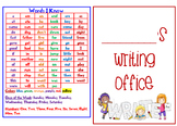 First Grade Writing Center or Office