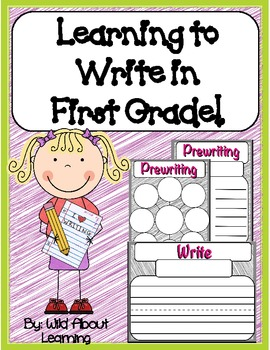 First Grade Writing Common Core