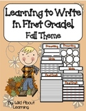 First Grade Writing Common Core *Fall Edition*