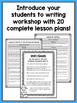 First Grade Writing Workshop Intro Unit {1st Grade Writing Workshop Unit 1}