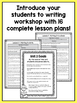 First Grade How-To Writing Lessons {1st Grade Writing Workshop Unit 3}
