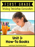 How-To Writing Lessons for First Grade {1st Grade Writing Workshop Unit 3}