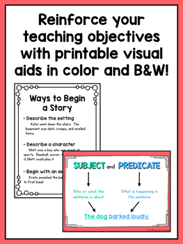 First Grade Narrative Writing Lessons {1st Grade Writing Workshop Unit 5}