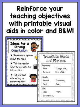 informative writing topics for first grade