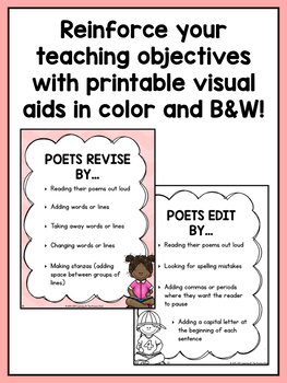 First Grade Poetry Writing Lessons {1st Grade Writing Workshop Unit 8}