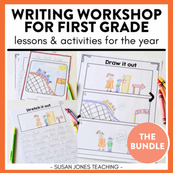 First Grade Writing - EVERGROWING bundle!