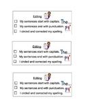 Writing - Editing Checklists