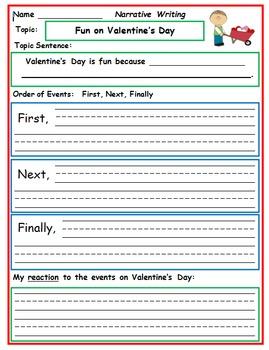 First Grade Writing: February