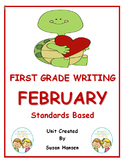 First Grade Writing: February