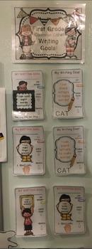 First Grade Writing Goals!
