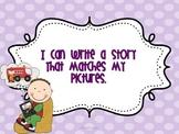 First Grade Writing Goals *BUNDLED*