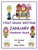 First Grade Writing: January