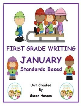 First Grade Writing: January