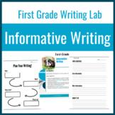 1st Grade Writing Lab: Informative Writing