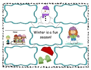 First Grade Writing Lessons for January