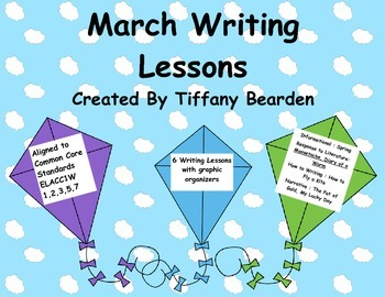 First Grade Writing Lessons for March