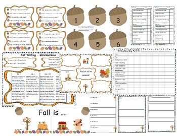 First Grade Writing Lessons for September