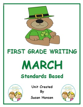 First Grade Writing: March