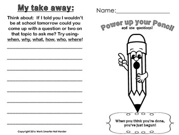 First Grade Writing Mini Lesson Printables