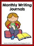First Grade Writing: Monthly Journals