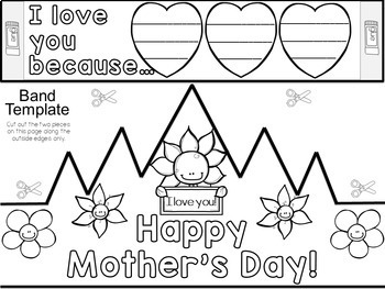 Mother's Day Writing and Crowns