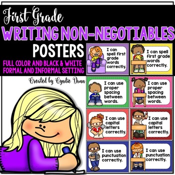 First Grade Writing Posters