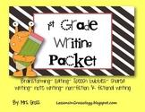 First Grade Writing Packet