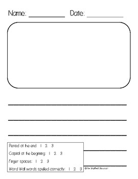Primary Handwriting Paper | All Kids Network